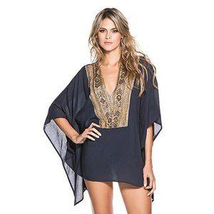 🆕 NWT OndadeMar embellished tunic coverup caftan